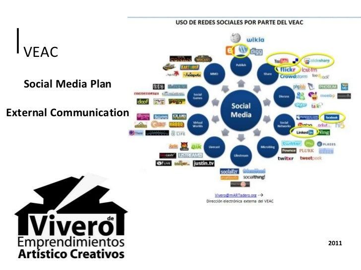 Social media plan   external comm