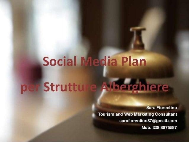 Social media plan hotel