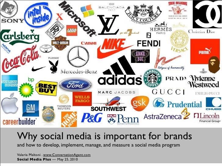 Why social media is important for brands and how to develop, implement, manage, and measure a social media program Valeria...