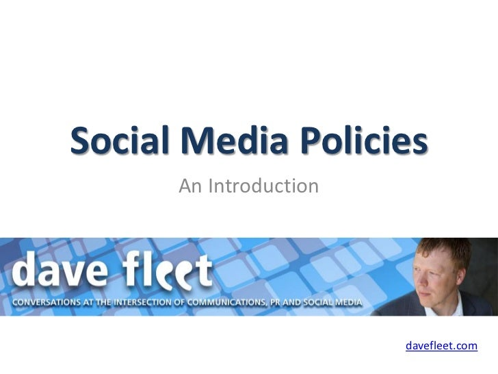 Social Media Policies Ebook
