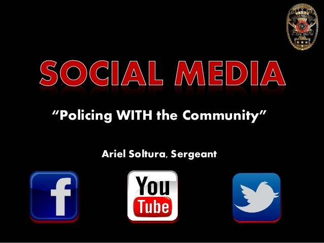 """Policing WITH the Community"" Ariel Soltura, Sergeant"