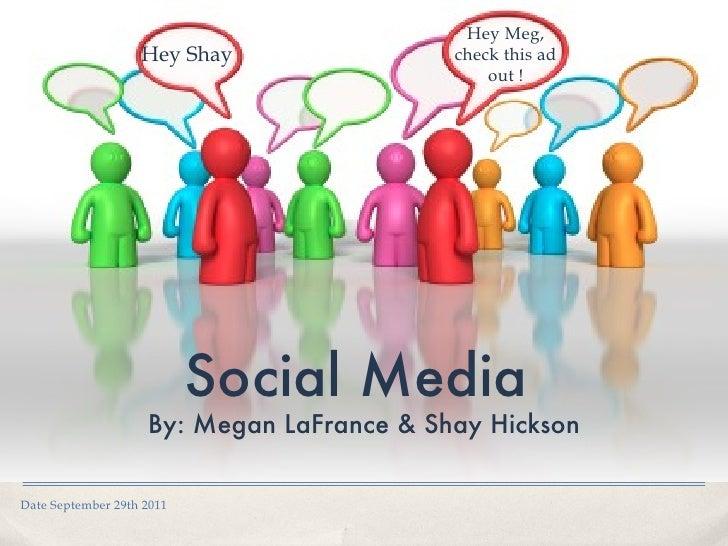 Social Media Power Point