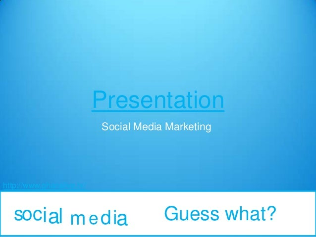 Social media and what is social media