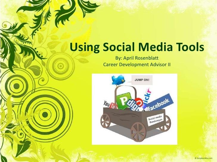 Using Social Media Tools