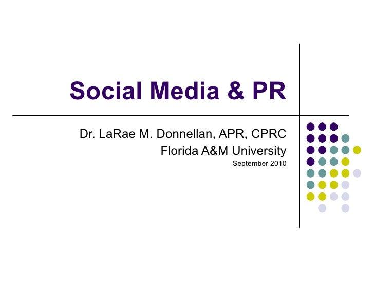Social media & pr3