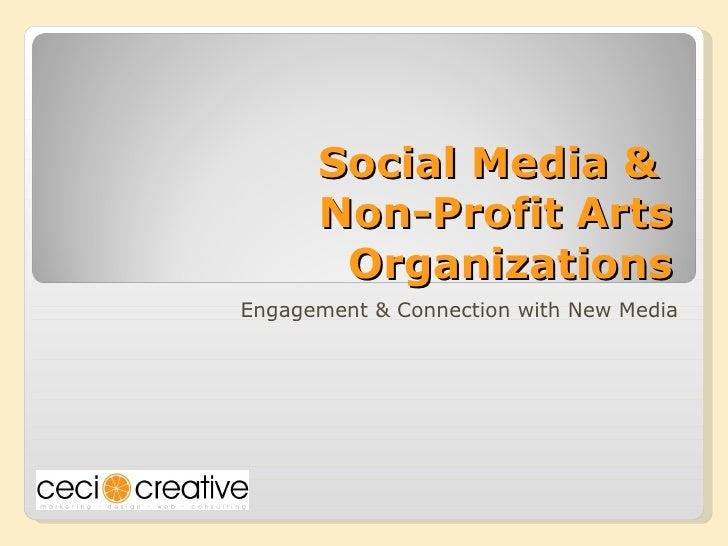 Social Media for Non-Profit Arts Organizations