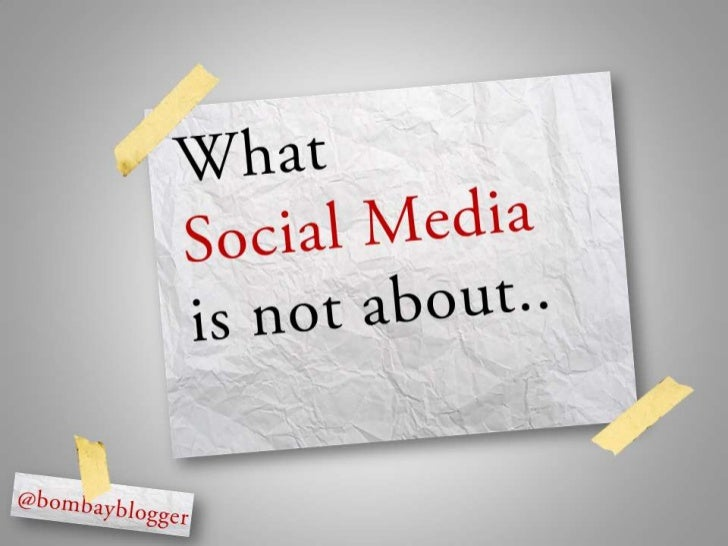 Did You Get Social Media Right?
