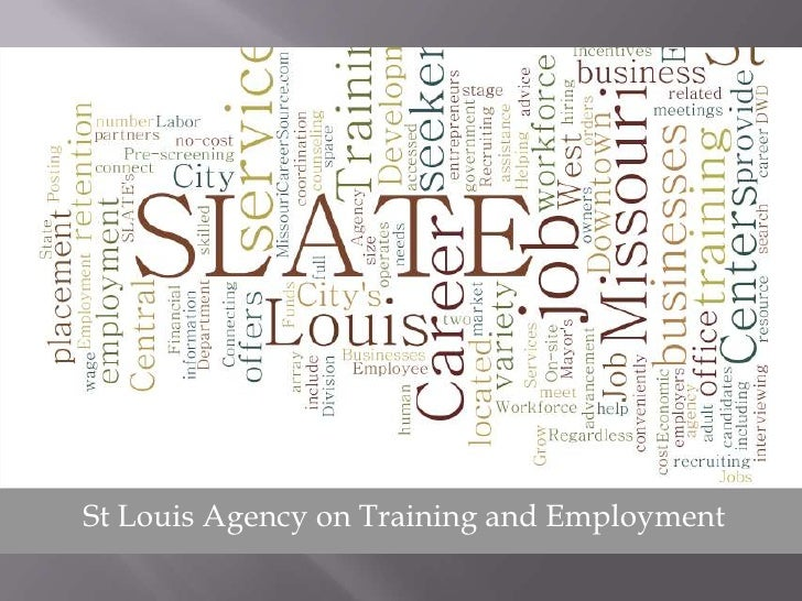 St Louis Agency on Training and Employment<br />