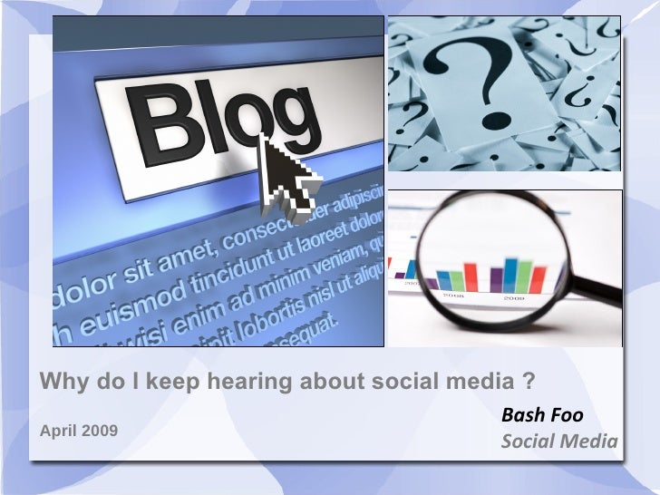 Socialmedia Presentation