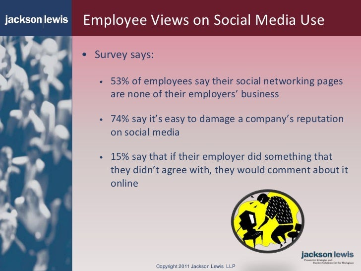 is employer monitoring of employee social media justified? essay Should you check your employee's social media accounts do employers have a right to monitor employees' social media accounts, or is this an invasion of their personal lives.