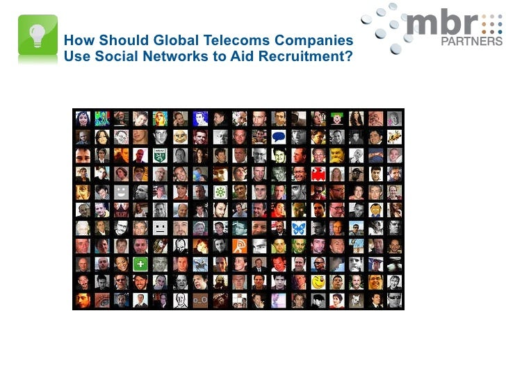 How Should Global Telecoms Companies Use Social Networks to Aid Recruitment?