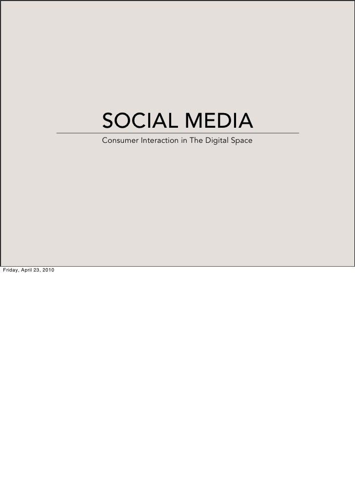 Philips Social Media Manifesto