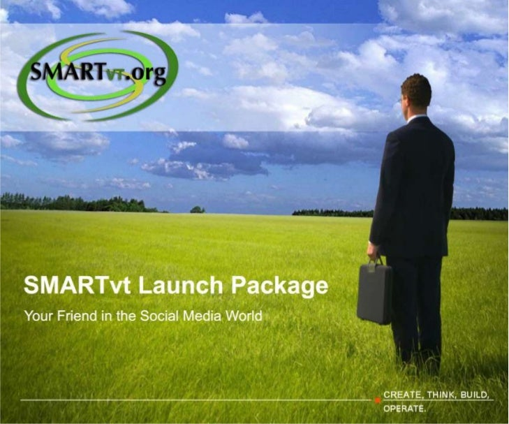 Social Media Presentation Launch Package
