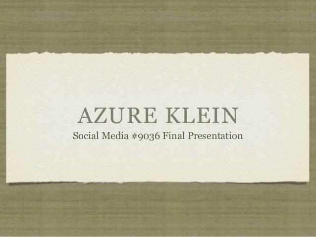 Social media presentation pdf