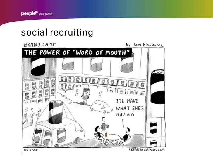 1<br />social recruiting<br />