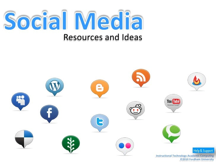 Social Media Presentation To Student Affairs