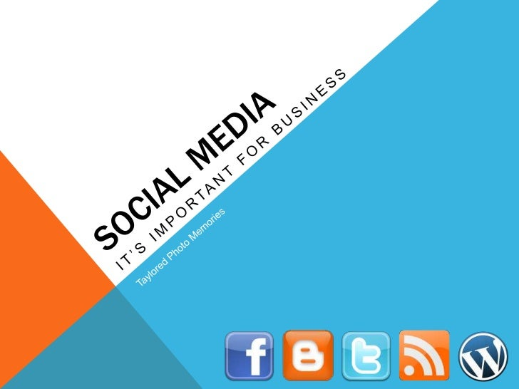 WHY SOCIAL MEDIA?• Communicate in new, unique, and engaging ways to further relationships with…    • Future clients, curre...