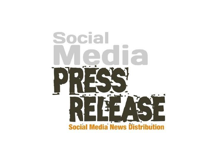 La Social Media Press Release               è un Comunicato Stampa scritto in una pagina Web            utilizzando il lin...