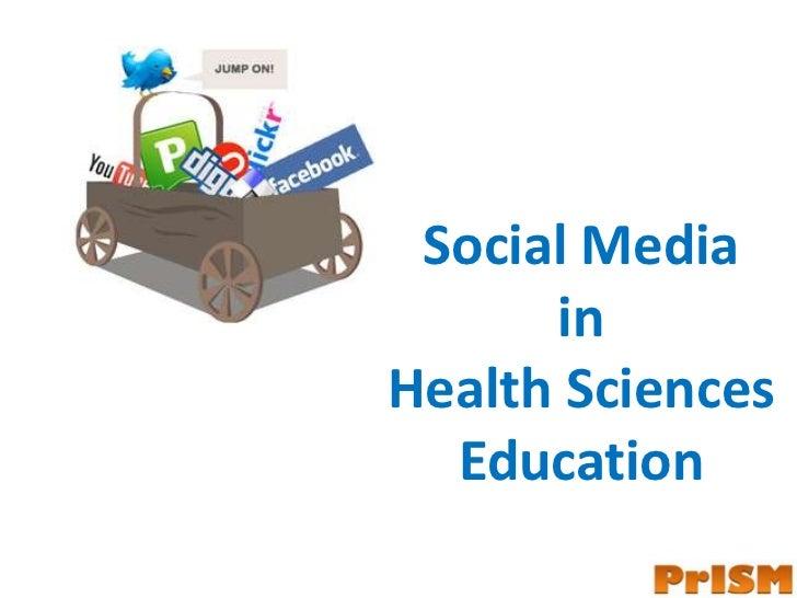 Social Media in Health Sciences Education<br />