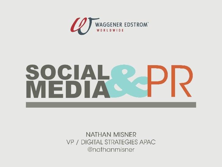 Social media & PR_Nathan Misner_WE_Feb2011