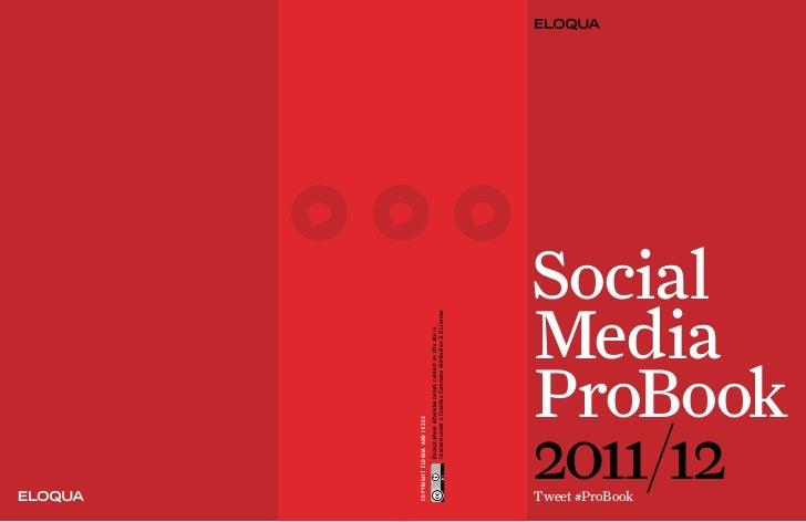 Social Media Pro Book 2011.2012