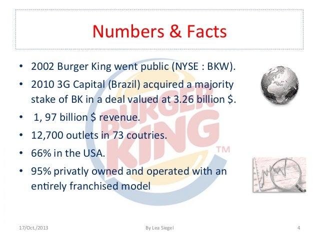 burger kings swot analysis Burger king, setting goals - burger king's swot analysis.
