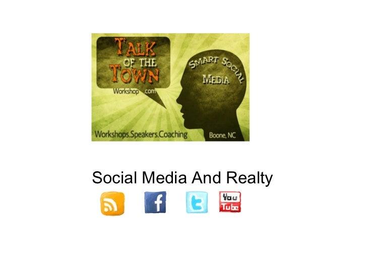 Social Media And Realty