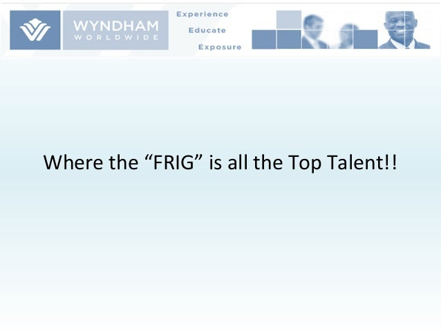 """Where the """"FRIG"""" is all the Top Talent!!"""