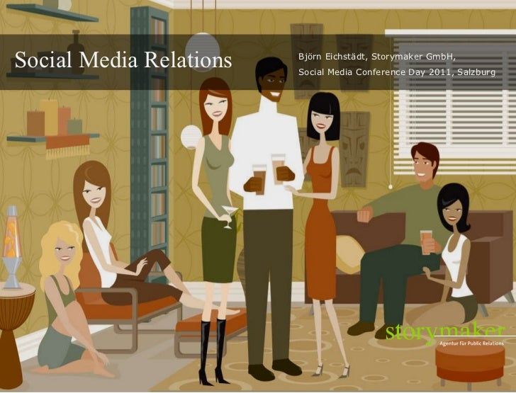 Social Media Relations - Vortrag Storymaker, Bjoern Eichstaedt