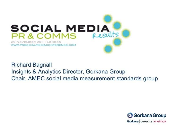 Social media results -PR & comms