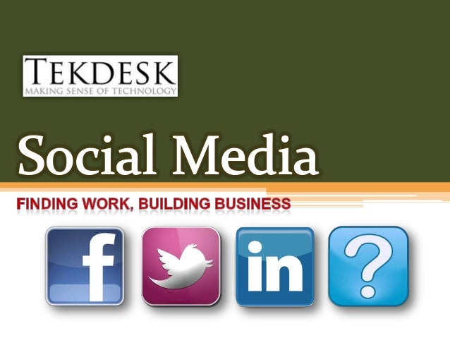 Social Media and Employment