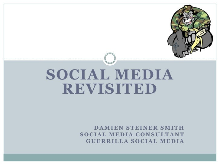 Social Media Revisited   Charites