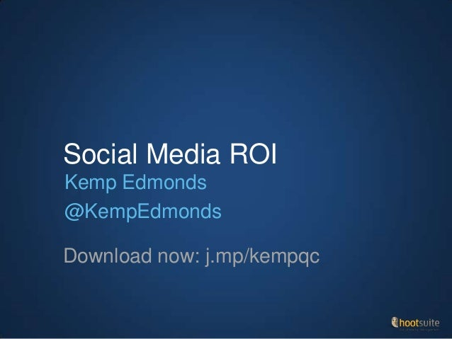 Measuring Direct Social Media ROI