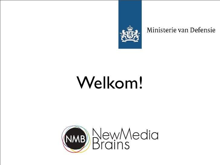 Social Media Rollercoaster - Ministerie van Defensie