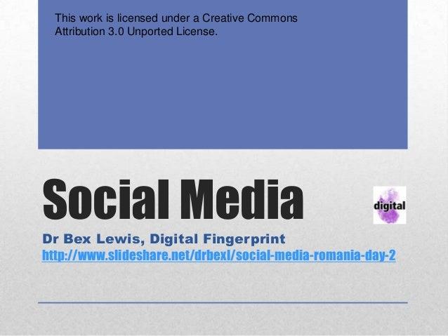 Social media Romania day 2