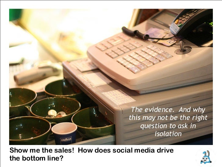 Show me the sales!  How social media impacts the bottom line