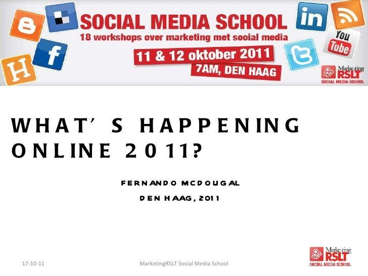 Social Media School oktober 2011