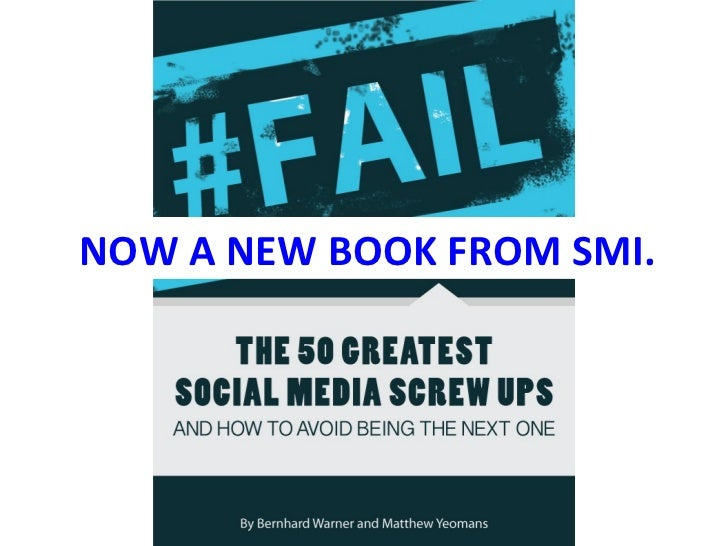 Social media Screw Ups - An Updated History from Kryptonite to Kenneth Cole (and beyond)