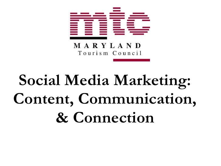 Social Media Seminar 07.23.09