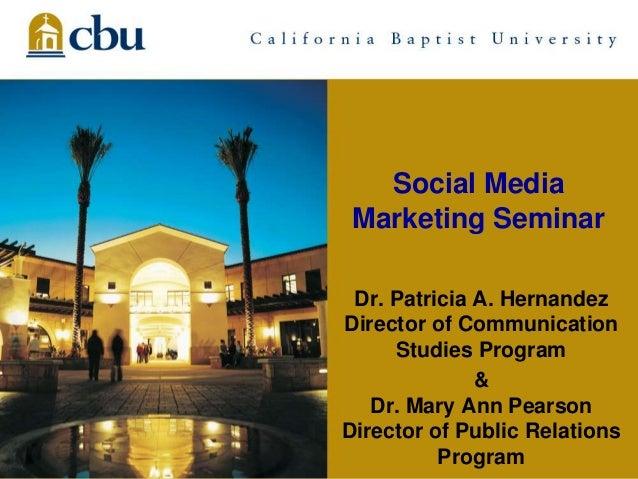 Social mediaseminarriverside