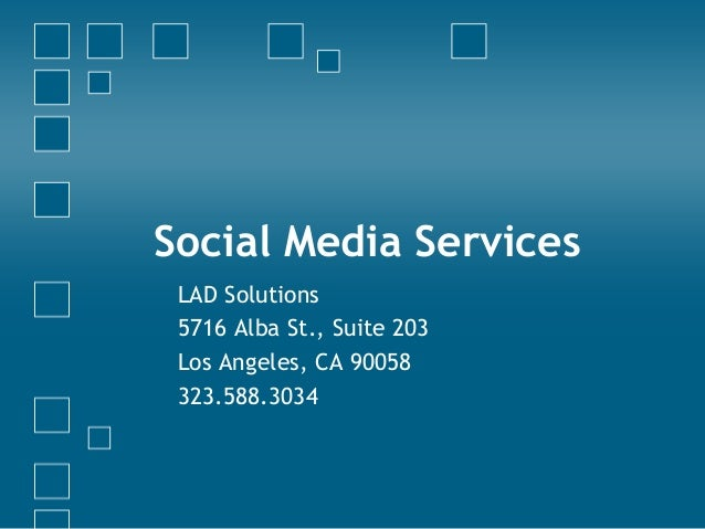 LAD Solutions - Social Media - Facts, tips, and services offered