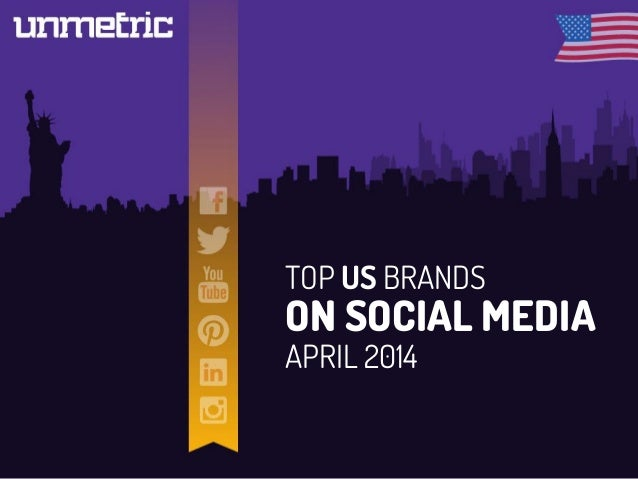 TOP US BRANDS ON SOCIAL MEDIA APRIL 2014