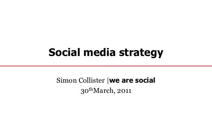 Social Media for PR webinar with Simon Collister
