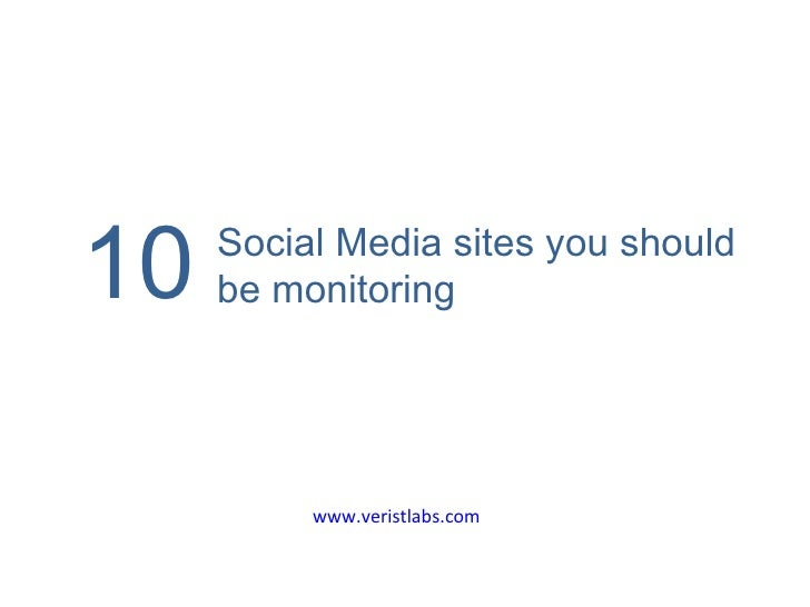 10 Social media sites you should monitor (india)