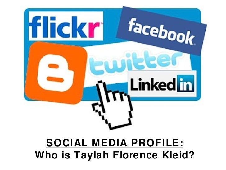 Social Media Profile: Tay Kleid