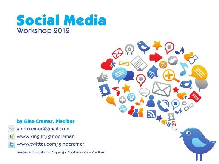 Social media Workshop RDJ + Pixelbar