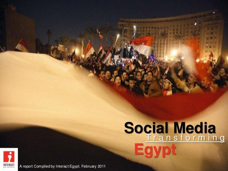 Social media sparking the egyptian revolution in 2011