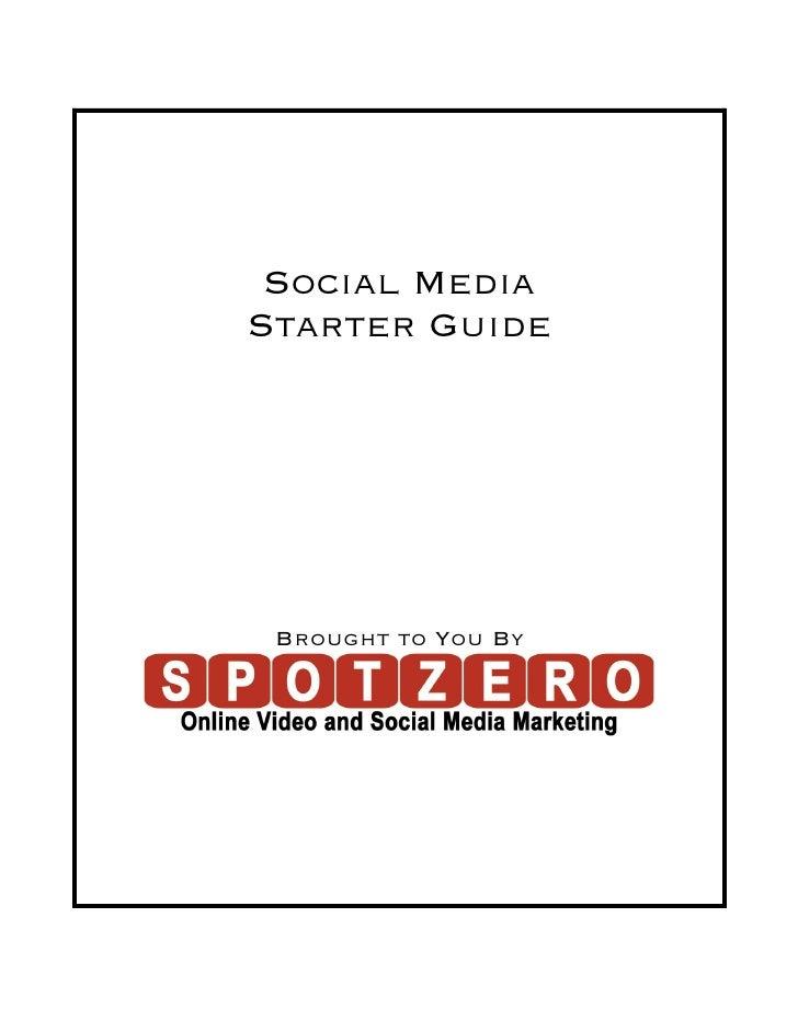 Social Media Starter Guide
