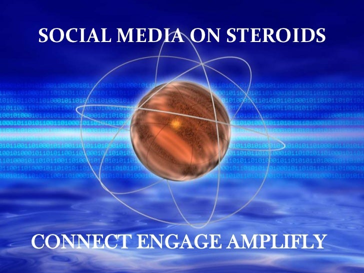 SOCIAL MEDIA ON STEROIDSCONNECT ENGAGE AMPLIFLY