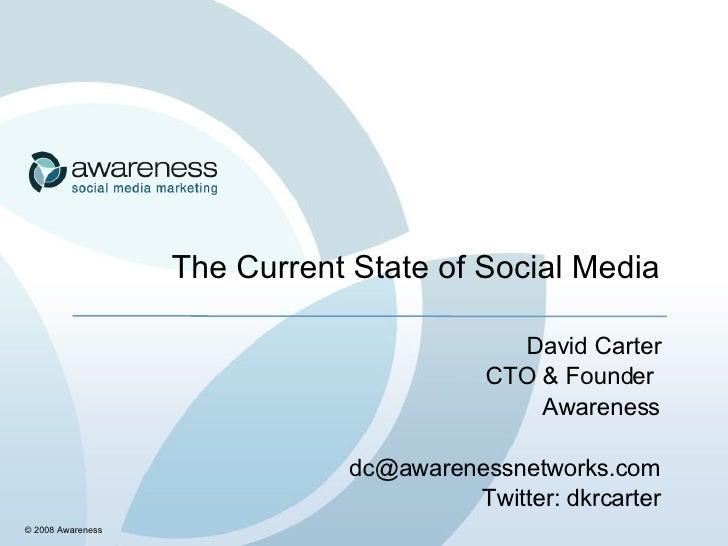 Social Media Strategy Keynote presentation